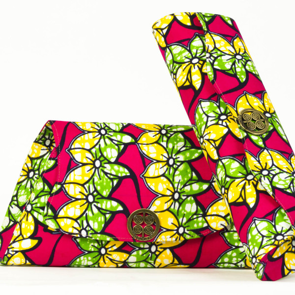 Asymmetrical clutch purse montaigne fleurs du for Fleurs du printemps