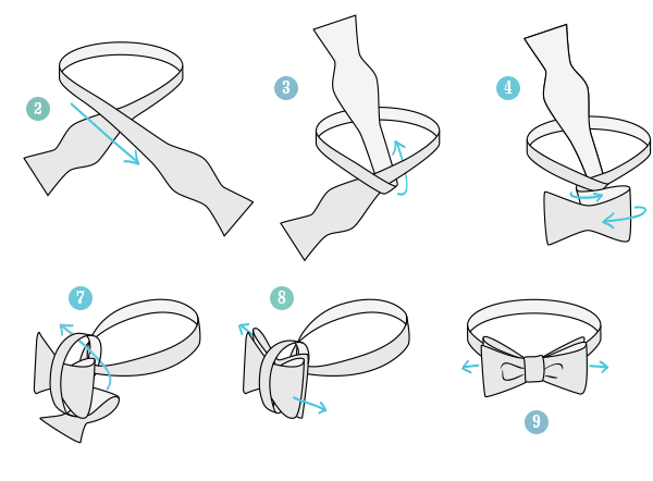 Avoid pre-tied bow ties like the plague. Furthermore, if you can tie your shoelaces like an adult, you can tie a bow tie like one, too. Though we love bow ties and strongly encourage any man to wear them, they run the risk of looking costume-y enough as it is.